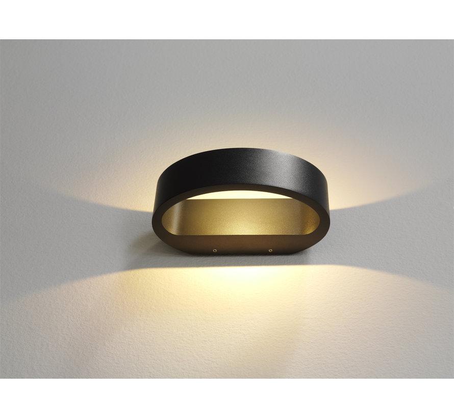 Wandlamp Sharp - Antraciet