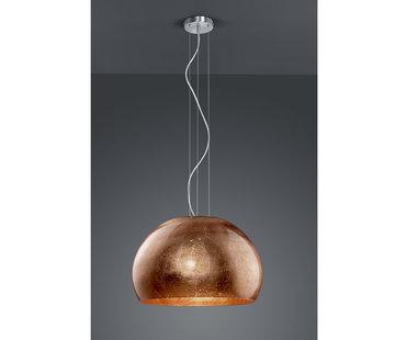 Trio Leuchten Hanglamp Ontario - Koper