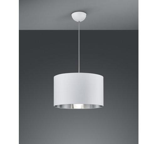 Trio Leuchten Hanglamp Hostel - Wit/Zilver