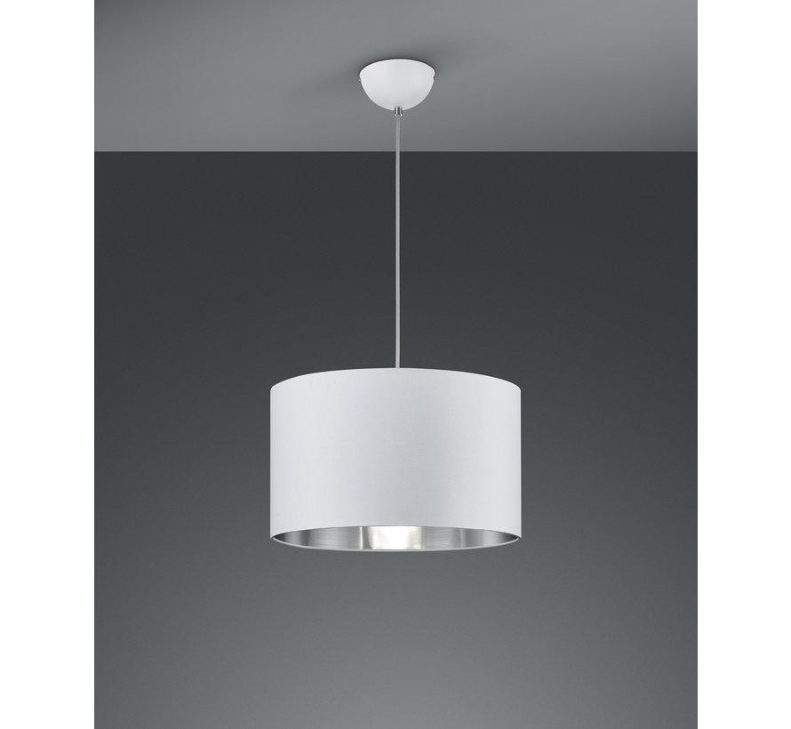 Hanglamp Hostel - Wit/Zilver