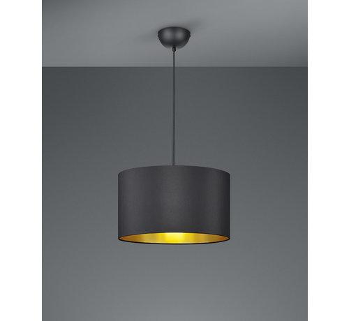 Trio Leuchten Hanglamp Hostel - Zwart/Goud
