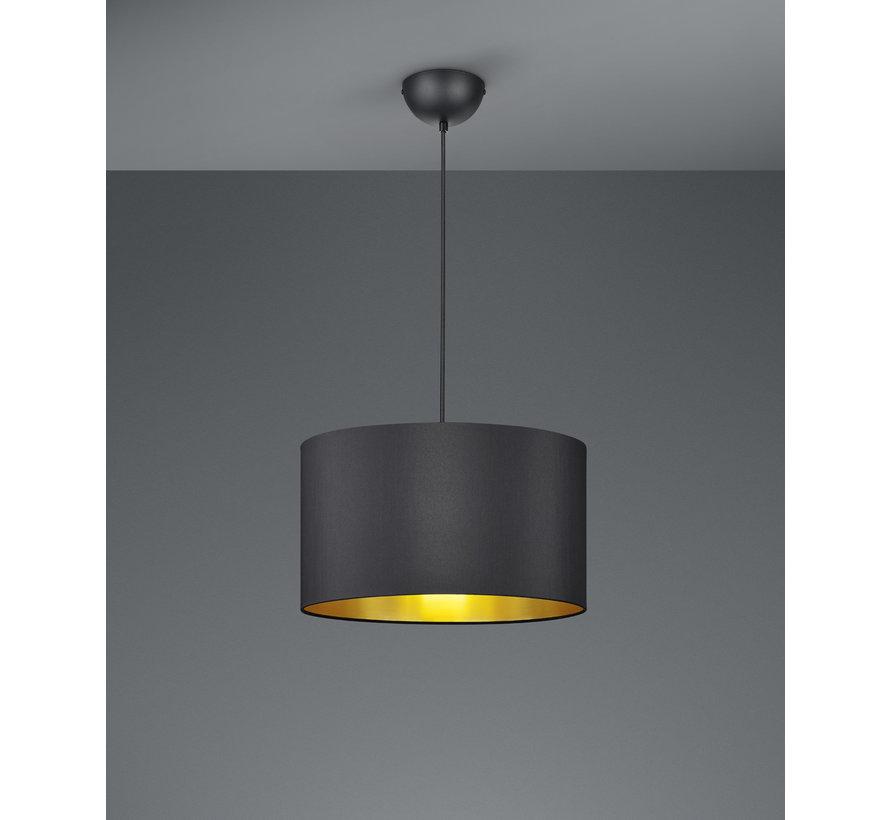 Hanglamp Hostel - Zwart/Goud