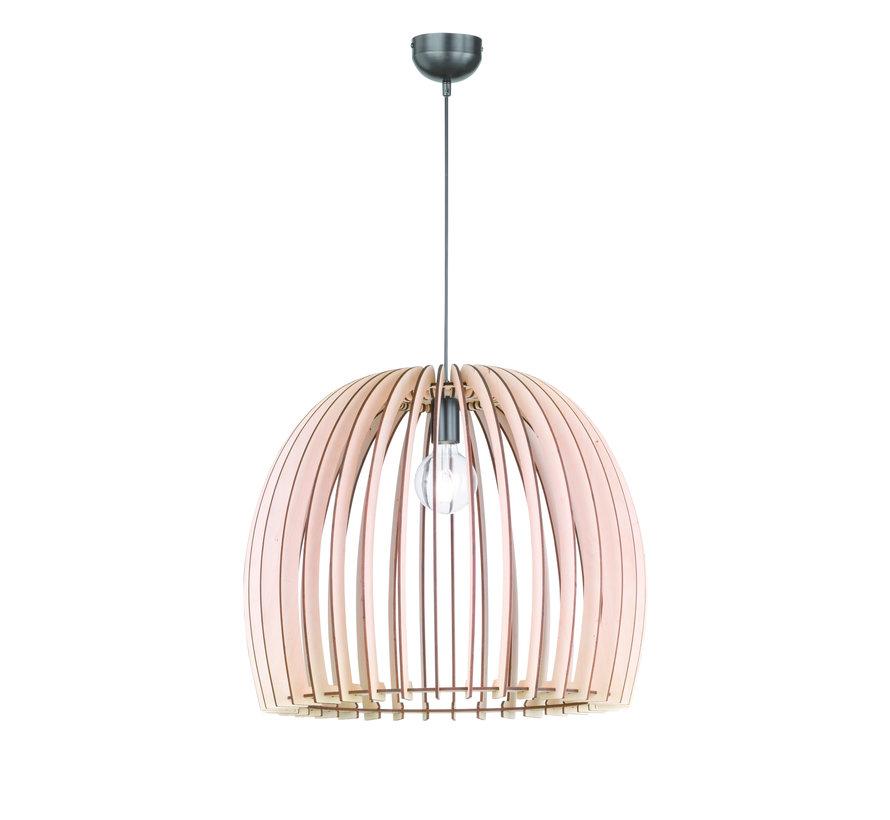 Hanglamp Reality Wood Ø60cm - Hout