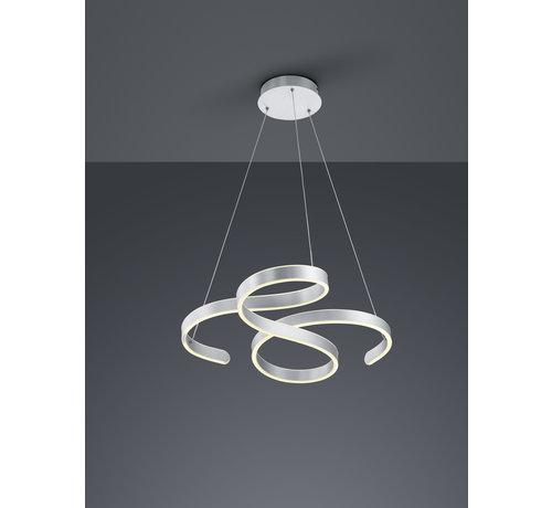Trio Leuchten Hanglamp Francis - Mat Staal