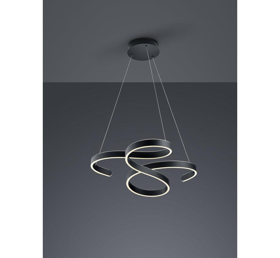Hanglamp Francis - Zwart