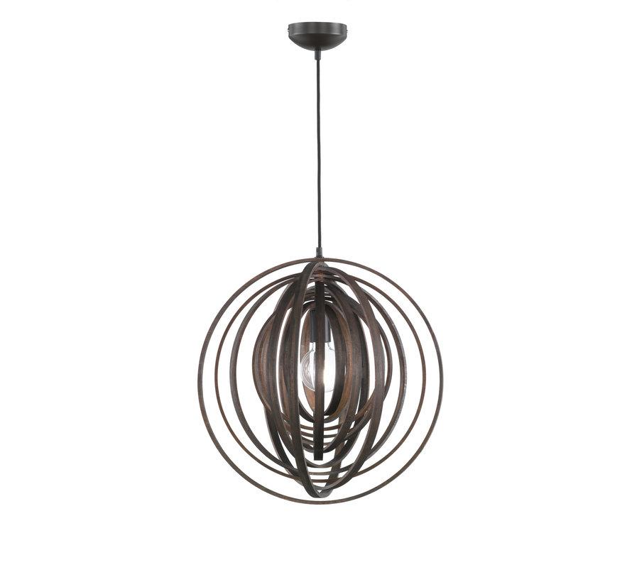 Hanglamp Boolan - Bruin