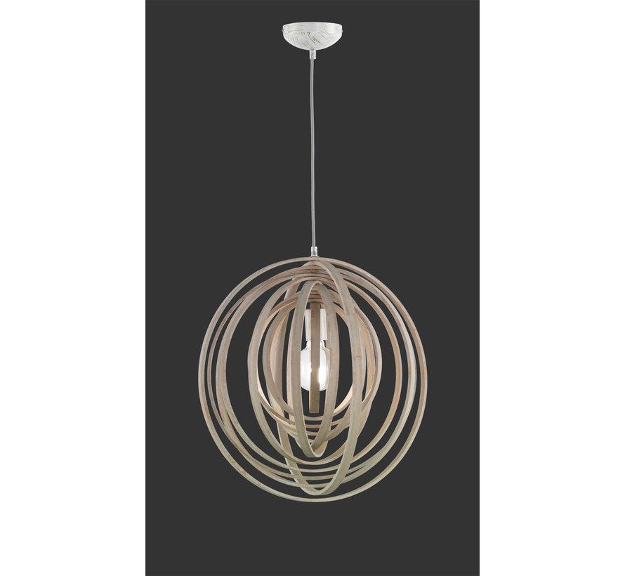 Hanglamp Boolan - Hout