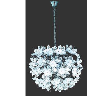 Trio Leuchten Hanglamp Blowball - Chroom/Wit