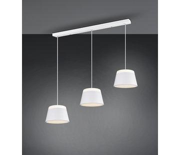 Trio Leuchten Hanglamp Baroness 3L - Wit