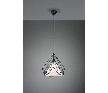 Trio Leuchten Hanglamp Babette - Zwart