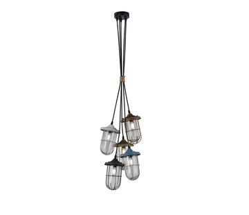 Trio Leuchten Hanglamp Birte 5L - Multicolor