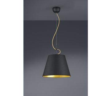 Trio Leuchten Hanglamp Andreus - Zwart/Goud