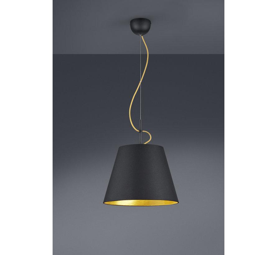 Hanglamp Andreus - Zwart/Goud
