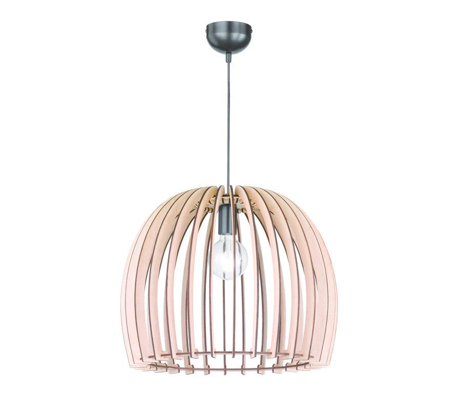 Hanglamp Reality Wood Ø50cm - Hout