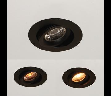 Artdelight Inbouwspot Special - Zwart - Dim To Warm