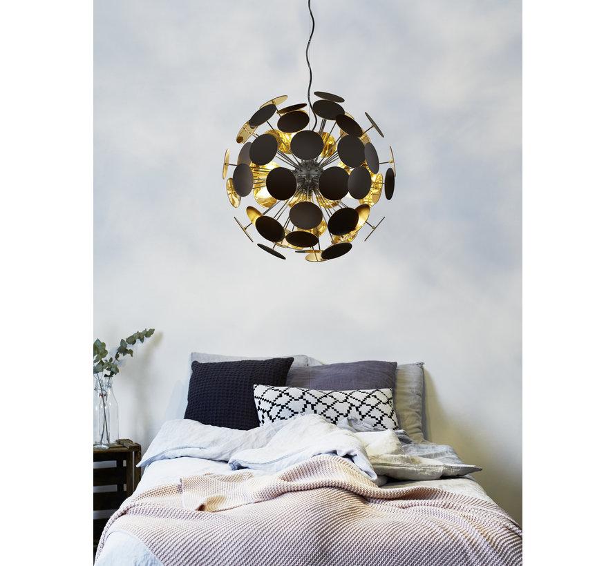 Hanglamp Discalgo - Zwart/Goud