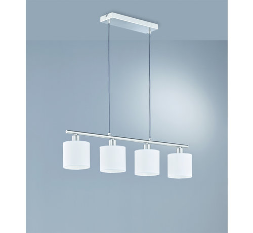 Trio Leuchten Hanglamp Tommy 4L - Wit