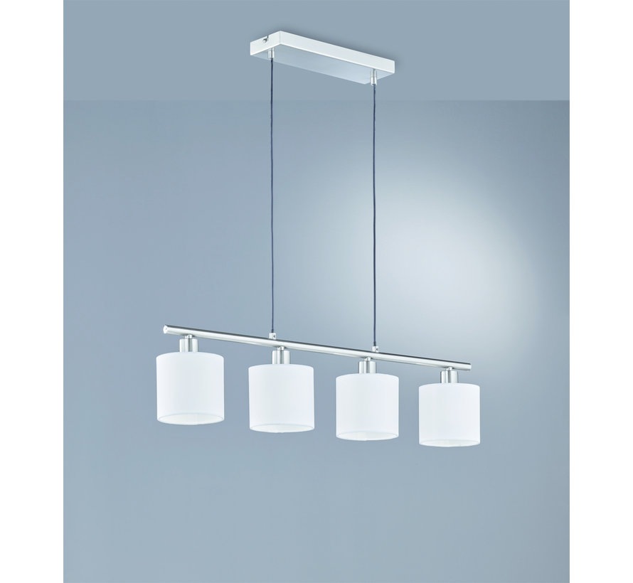Hanglamp Tommy 4L - Wit