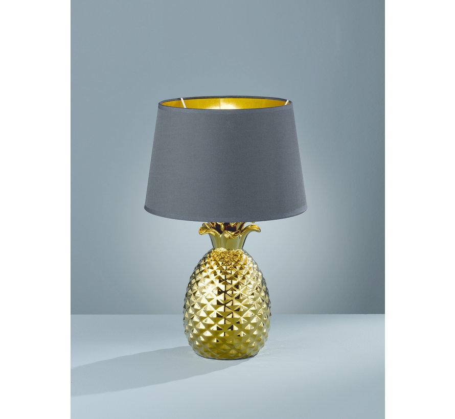 Tafellamp Pineapple - Zwart/Goud