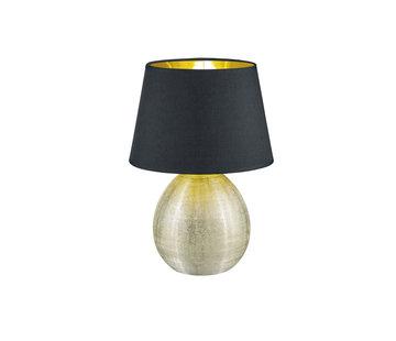 Trio Leuchten Tafellamp Luxor - Zwart/Goud