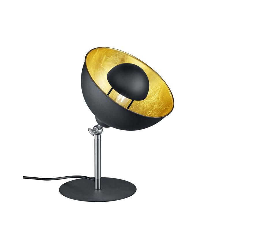 Tafellamp Liege - Zwart/Goud
