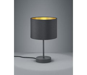 Trio Leuchten Tafellamp Hostel - Zwart/Goud