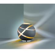 Trio Leuchten Tafellamp Faro - Zwart/Goud