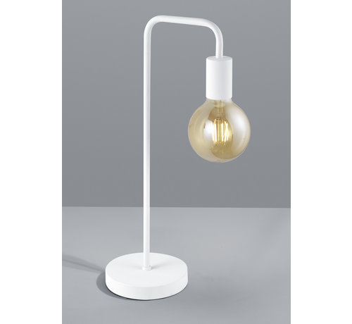 Trio Leuchten Tafellamp Diallo - Wit