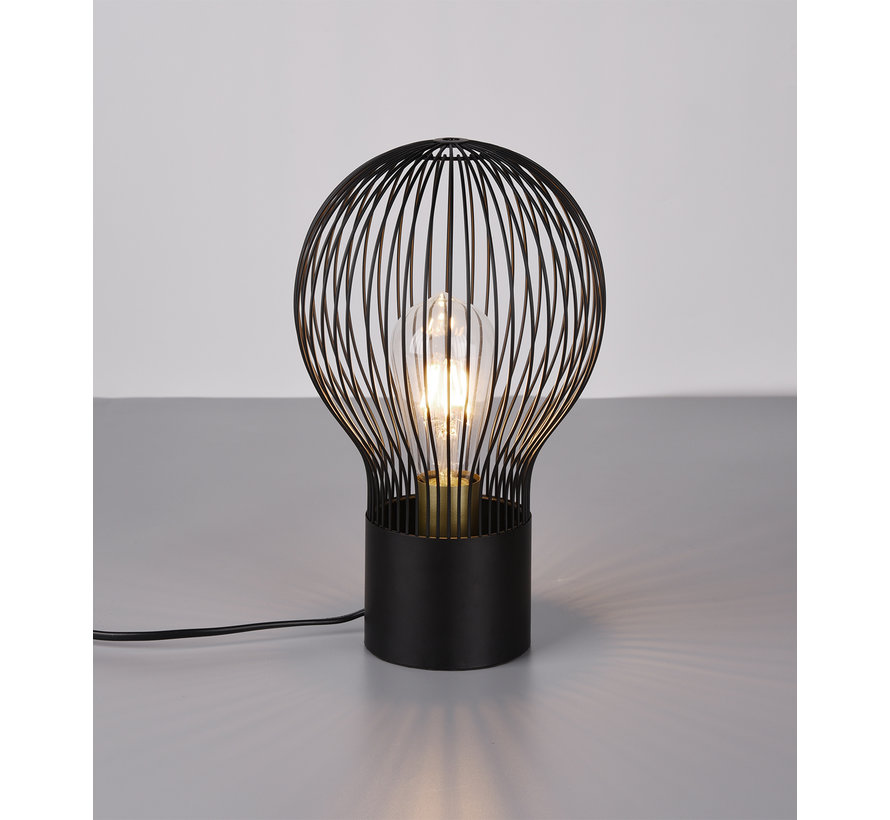 Tafellamp Dave - Zwart