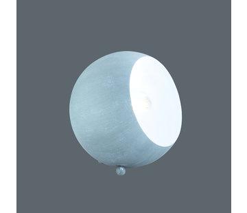 Trio Leuchten Tafellamp Billy - Grijs/Wit