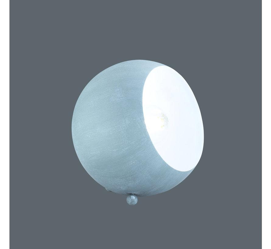 Tafellamp Billy - Grijs/Wit