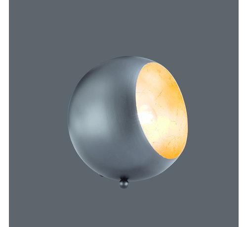 Trio Leuchten Tafellamp Billy - Zwart/Goud