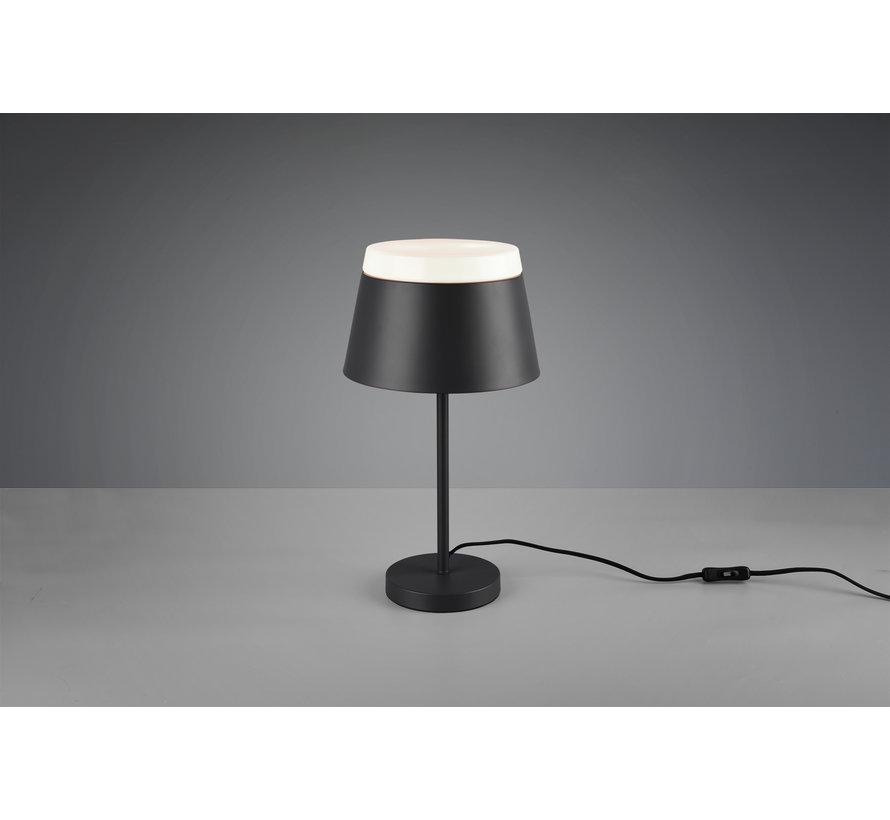 Tafellamp Baroness - Antraciet/Wit