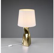 Trio Leuchten Tafellamp - Abeba - Wit/Goud