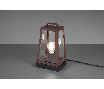 Trio Leuchten Tafellamp Arkansas - Roestbruin