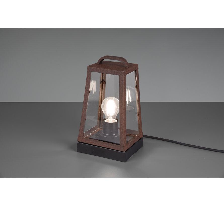 Tafellamp Arkansas - Roestbruin