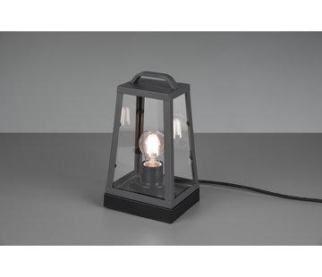 Trio Leuchten Tafellamp Arkansas - Antraciet