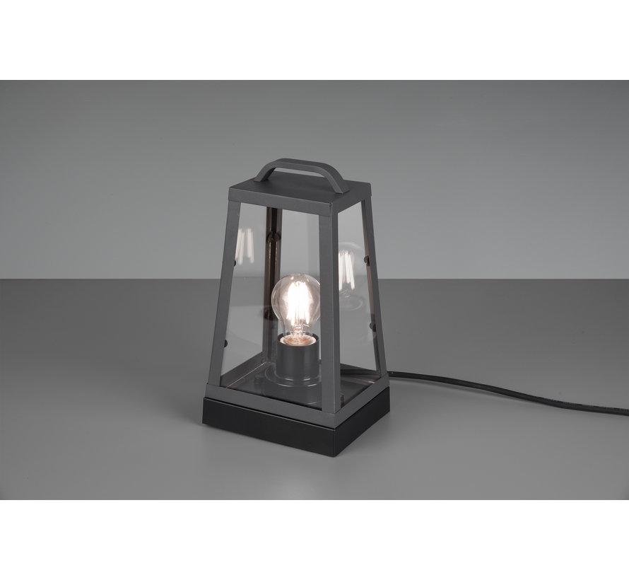 Tafellamp Arkansas - Antraciet