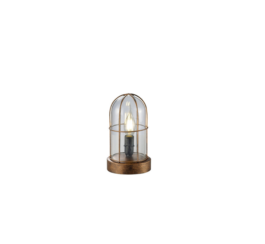 Tafellamp Birte - Koper