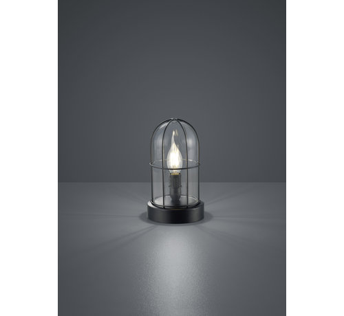 Trio Leuchten Tafellamp Birte - Zwart