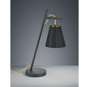 Trio Leuchten Tafellamp Andreus - Zwart/Goud