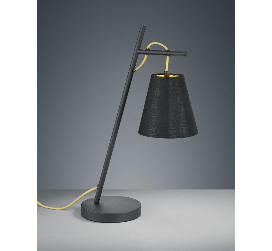 Tafellamp Andreus - Zwart/Goud