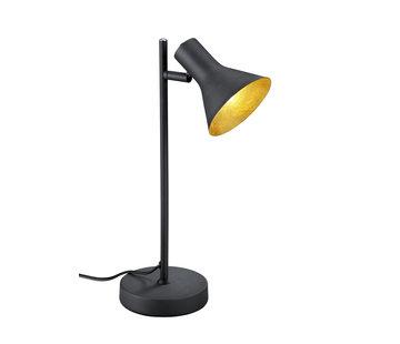 Trio Leuchten Tafellamp Nina - Zwart/Goud