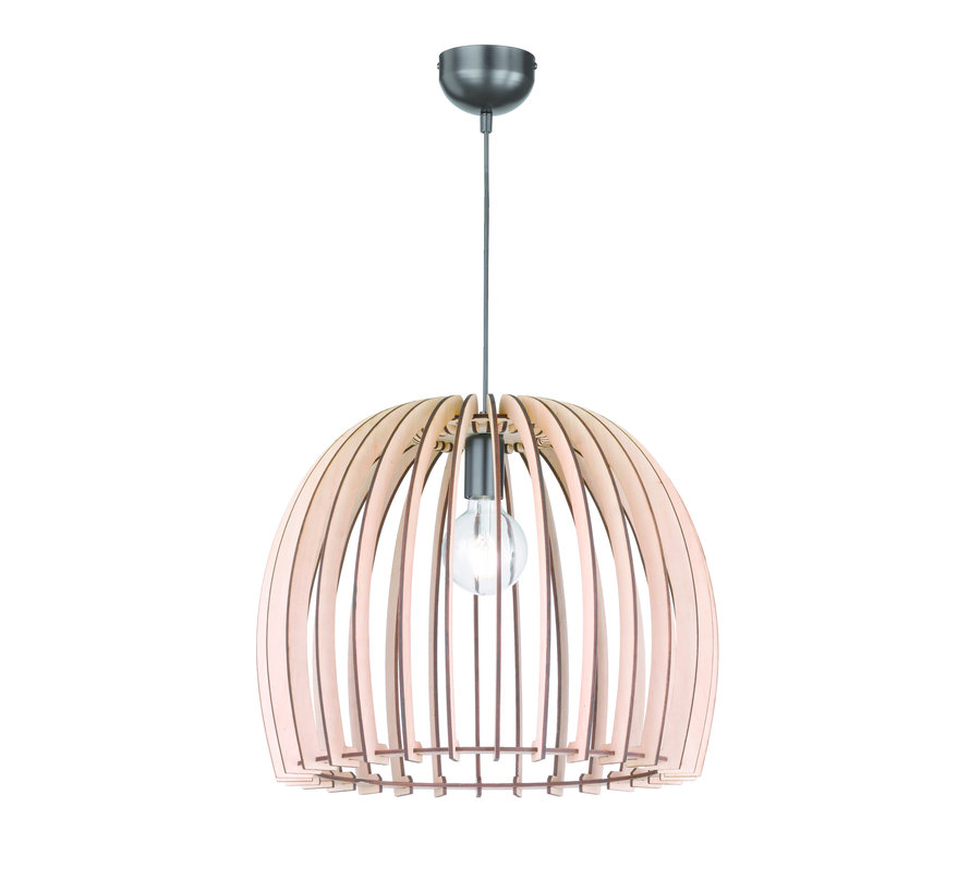 Hanglamp Reality Wood Ø30cm - Hout