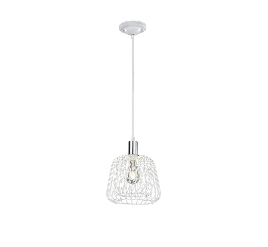 Hanglamp Sanna - Wit/Chroom