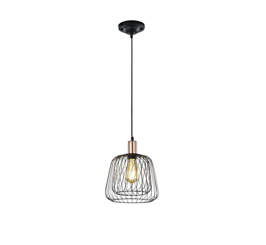 Hanglamp Sanna - Zwart/Koper