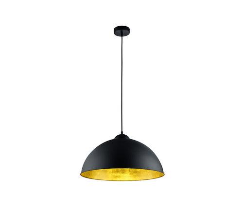 Trio Leuchten Hanglamp Romino II - Zwart/Goud