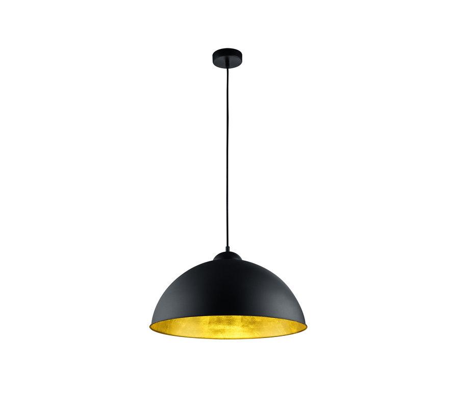Hanglamp Romino II - Zwart/Goud