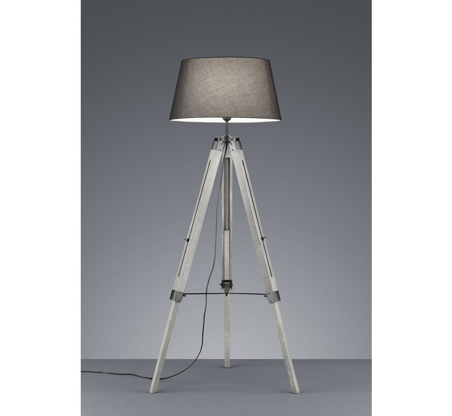 Vloerlamp Tripod - Grijs