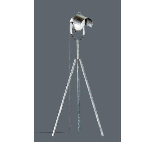 Trio Leuchten Vloerlamp No.5 - Zilver